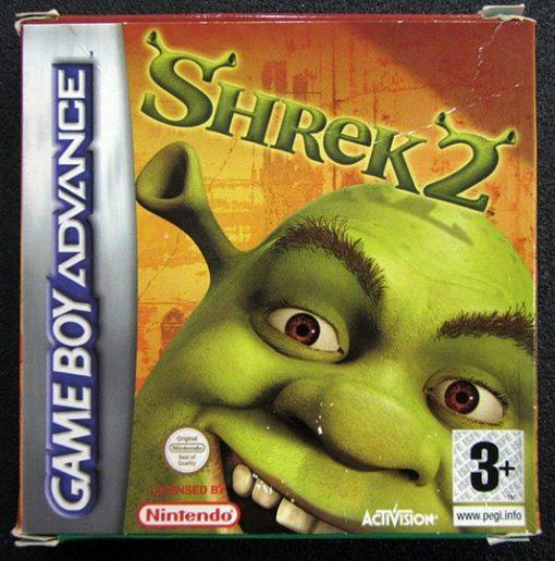 Shrek 2 GAME BOY ADVANCE