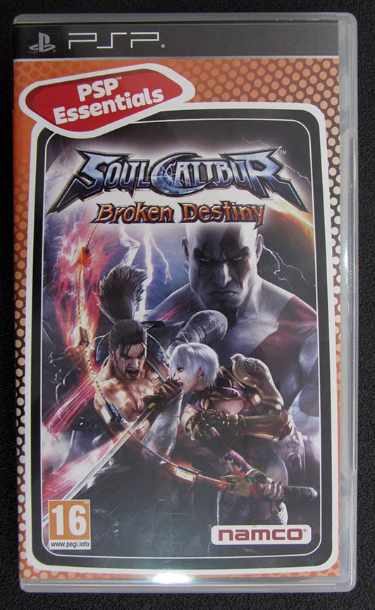 Soul Calibur: Broken Destiny PSP