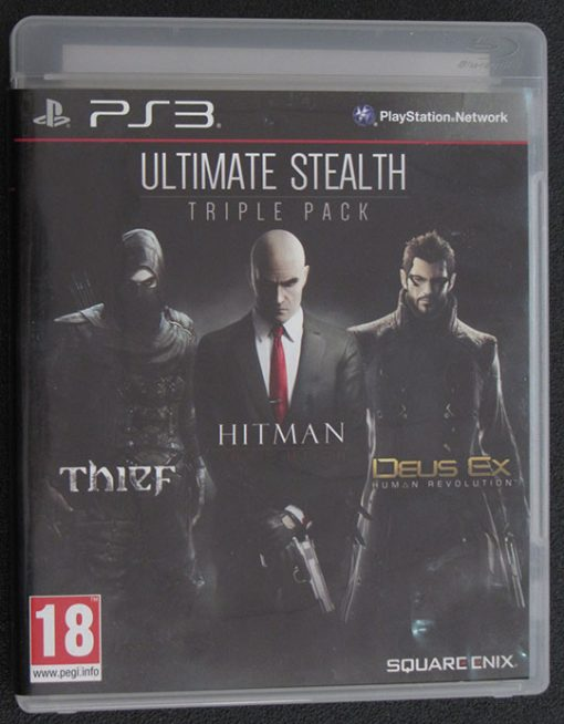 Ultimate Stealth Triple Pack PS3