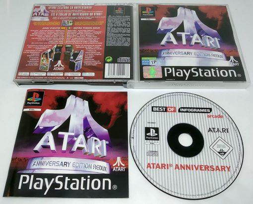 Atari Anniversary Edition Redux PS1
