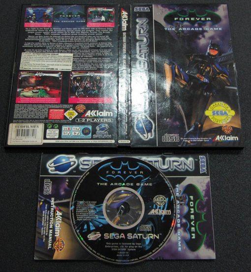 Batman Forever: The Arcade Game SEGA SATURN