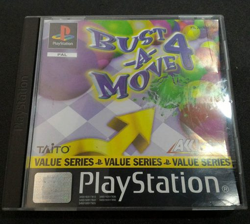 Bust-A-Move 4 PS1