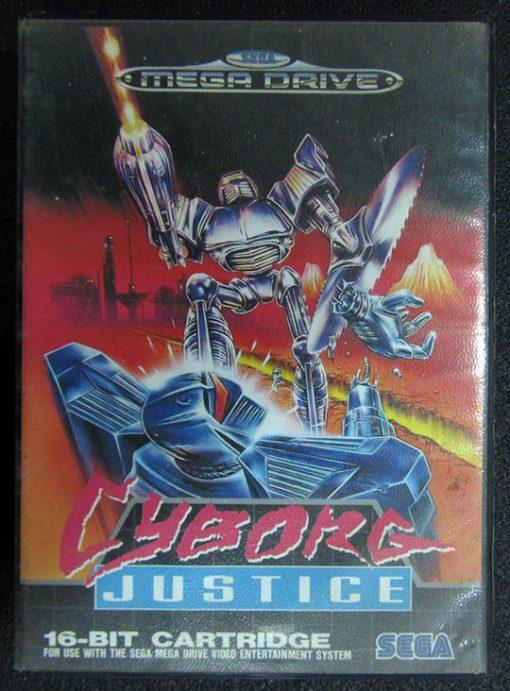 Cyborg Justice MEGA DRIVE
