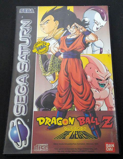 Dragon Ball Z: The Legend SEGA SATURN