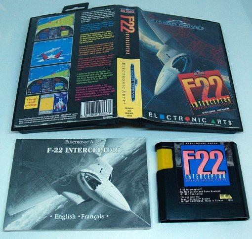 F22 Interceptor MEGA DRIVE