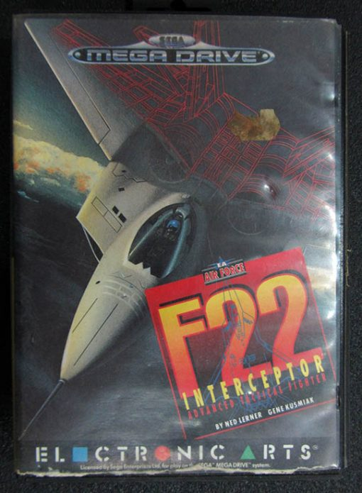 F22 Interceptor MEGA DRIVE