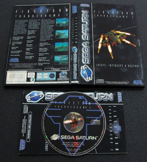 Firestorm Thunderhawk 2 SEGA SATURN