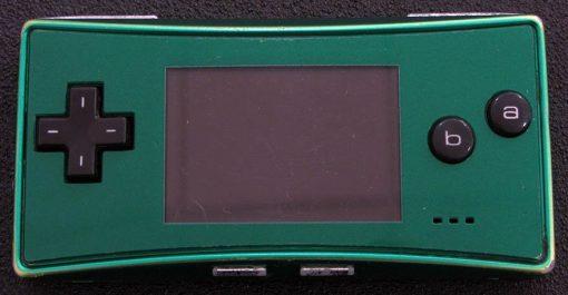 Consola Usada Nintendo Game Boy Micro Verde