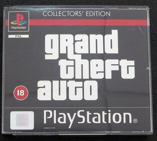 Grand Theft Auto - Collectors' Edition PS1