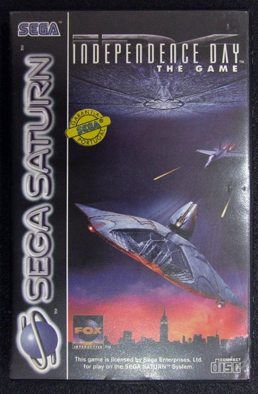 Independence Day: The Game SEGA SATURN