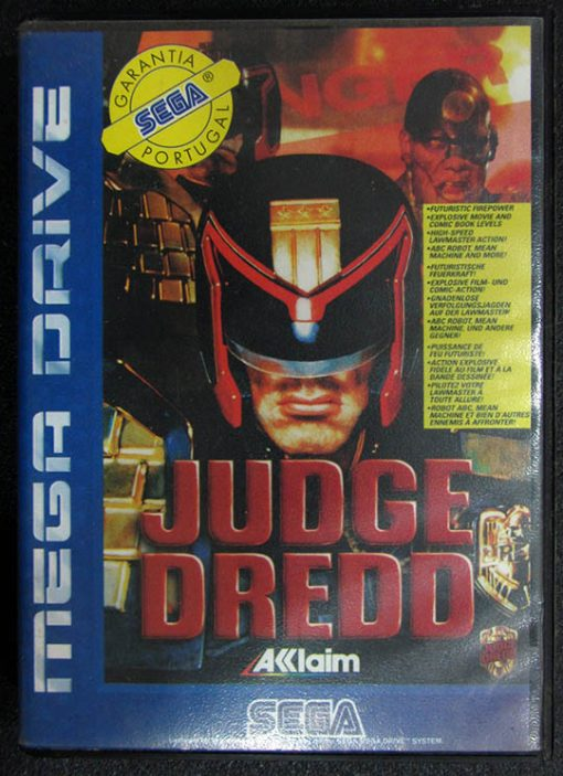 Judge Dredd MEGA DRIVE