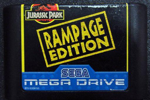 Jurassic Park: Rampage Edition MEGA DRIVE