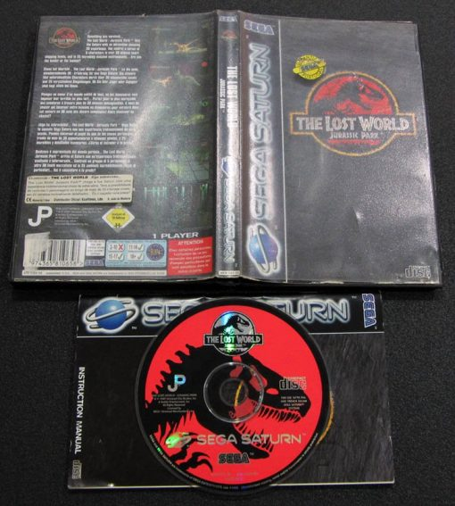 The Lost World: Jurassic Park SEGA SATURN