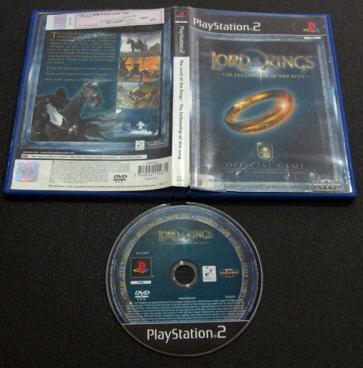 The Lord of the Rings: Fellowship of the Ring PS2