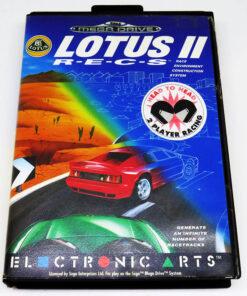 Lotus II R-E-C-S MEGA DRIVE