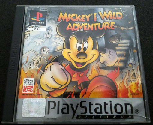 Mickey's Wild Adventure PS1