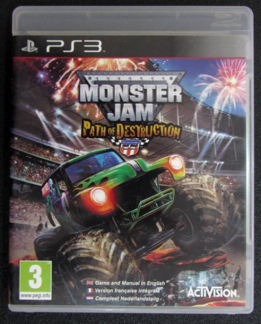 Monster Jam: Path of Destruction PS3