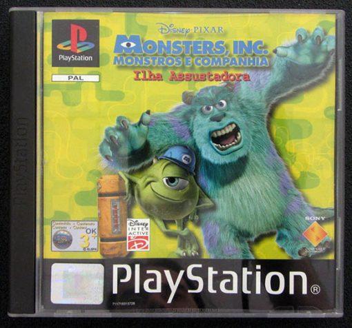 Monstros e Companhia: Ilha Assustadora PS1