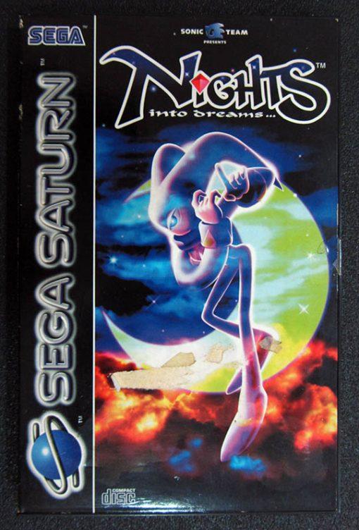 Nights: Into Dreams SEGA SATURN