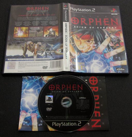 Orphen: Scion of Sorcery PS2