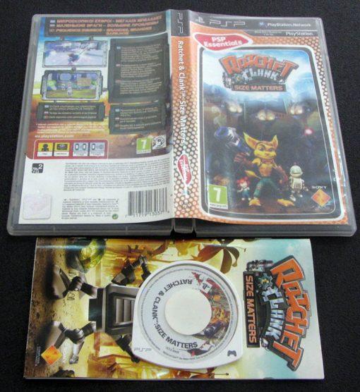 Ratchet & Clank: Size Matters PSP