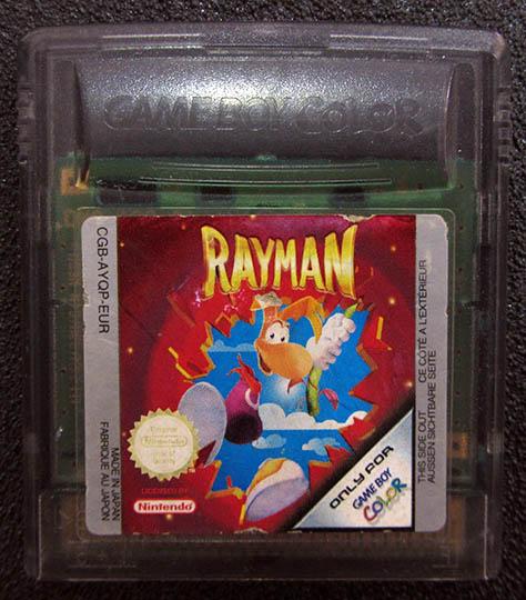 Rayman GAME BOY COLOR