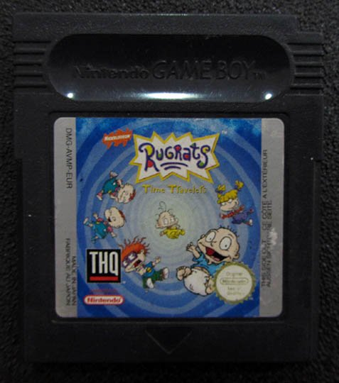 Rugrats: Time Travellers GAME BOY