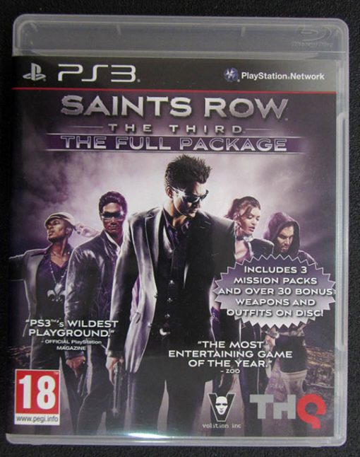 Saints Row The Third - The Full Package PS3