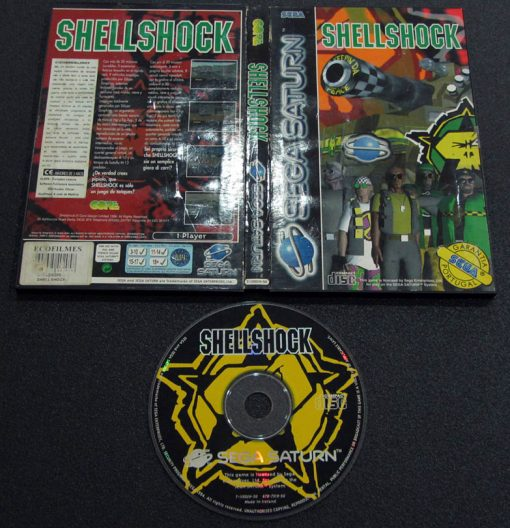 Shellshock SEGA SATURN