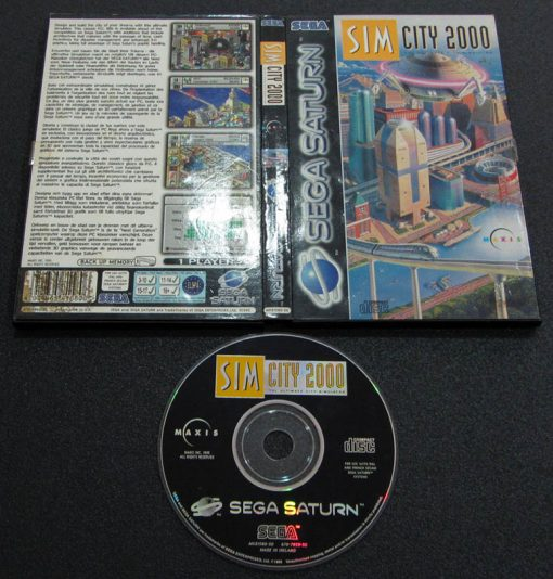Sim City 2000 SEGA SATURN