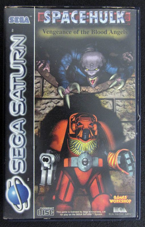 Space Hulk: Vengeance of the Blood Angels SEGA SATURN