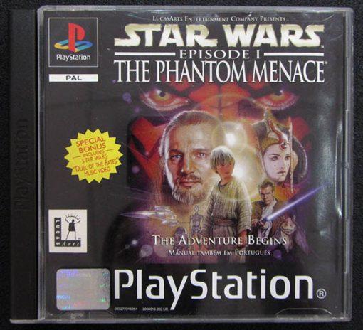 Star Wars Episode 1: The Phantom Menace PS1