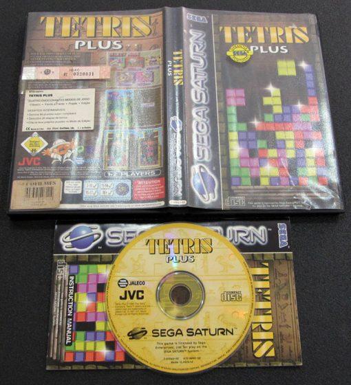 Tetris Plus SEGA SATURN