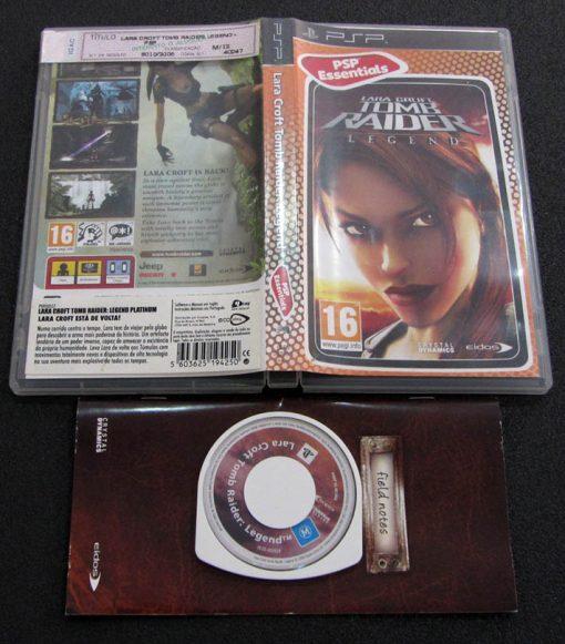 Tomb Raider: Legend PSP