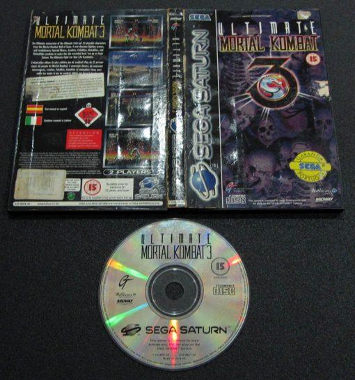 Ultimate Mortal Kombat 3 SEGA SATURN