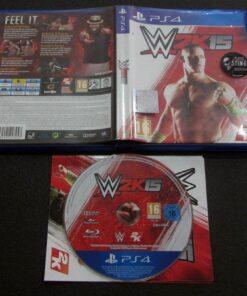 WWE 2K15 PS4