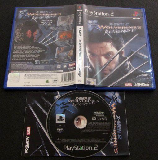 X-Men 2: Wolverine's Revenge PS2