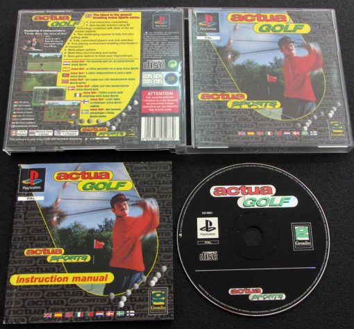 Actua Golf PS1