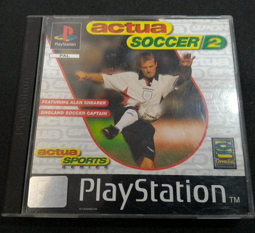 Actua Soccer 2 PS1
