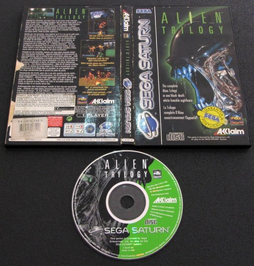 Alien Trilogy SEGA SATURN