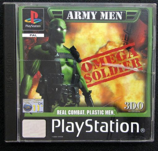 Army Men: Omega Soldier PS1