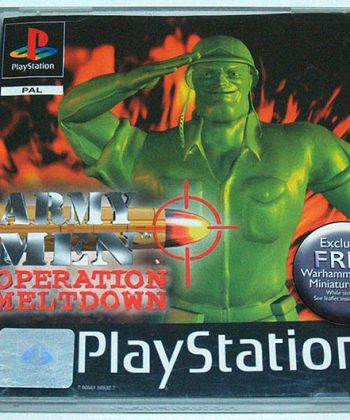 Army Men: Operation Meltdown PS1