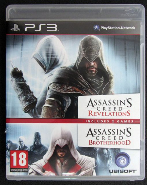Assassin's Creed: Brotherhood + Revelations Pack PS3