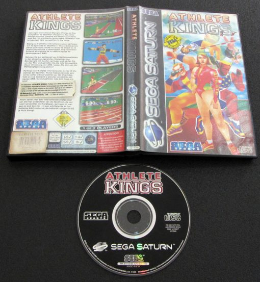 Athlete Kings SEGA SATURN