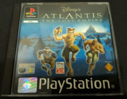 Disney's Atlantis: The Lost Empire PS1