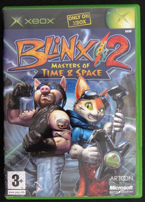 Blinkx 2: Masters of Time & Space XBOX