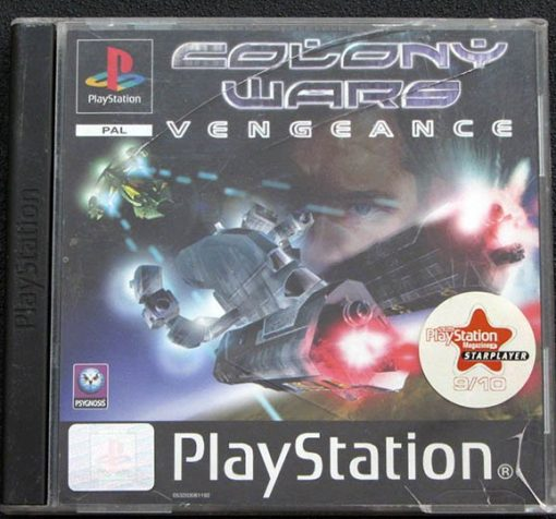 Colony Wars: Vengeance PS1