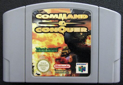 Command & Conquer N64
