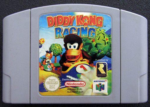 Diddy Kong Racing N64