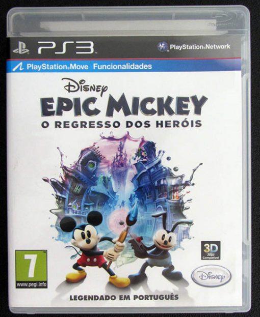 Epic Mickey: O Regresso dos Heróis PS3